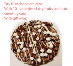 Chocolate Pizza - Innovative Chocolate - Father's day Spl