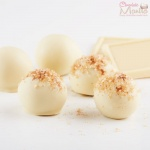 Ginger White Chocolate Truffles