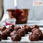 Red Velvet Chocolate Truffles