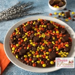 Truffles Gems Chocolate Pizza