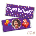 Happy Birthday Wrap Chocolate Bar