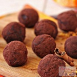 Cinnamon Chocolate Truffles - Indian Flavor