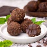 Mint Leaves Chocolate Truffles - Indian Flavor