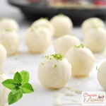 Mint White Chocolate Truffles - Indian Flavor