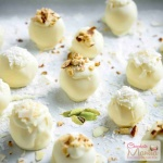 Cardamom White Chocolate Truffles - Indian Flavor