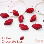 Red & Hot Chocolate Lips