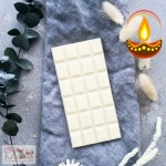 White Chocolate bar with Diwali Greeting Card