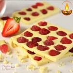 Strawberry Chocolate Bar - Diwali Gift