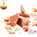 Almond Crumble Choco Blocks - Diwali Special