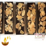 Healthy Almond Choco Bars - Diwali Special