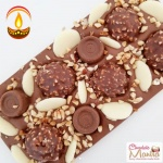 Almond Crumble Ferrero Rocher Chocolate Bar - Diwali Spl