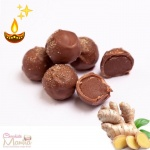 Ginger Chocolate Truffles - Diwali Special