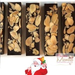 Almond Chocolate Bars - Christmas Gift