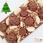 Almond Crumble Ferrero Rocher Chocolate Bar - Christmas Special