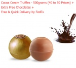 Cocoa Cream Truffles - 500 grams