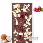 Cranberries Coconut Chocolate Bar