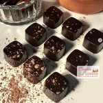 Dark Chocolate - Caramel Truffles
