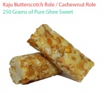 Kaju Butterscotch Role Cashew nut Butterscotch Roll