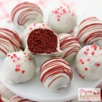 Red Velvet White Chocolate Truffles