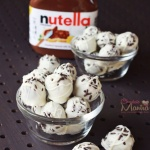 Nutella White Chocolate Truffles - So Delicious