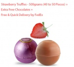 Strawberry Truffles - 500 grams