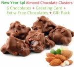 Amazing Almond Clusters - New Year Special