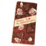 Happy Anniversary Dry Berries Chocolate Bar