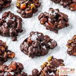 Mixed Nuts Chocolate Clusters