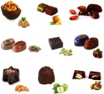 Jumbo Dark Fantasy - 25 Varieties of Dark Praline Chocolates