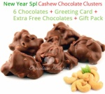 Tasty Cashew nut Clusters - New Year Spl