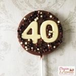 Numbers on Chocolate Lollipop - Birthday Special