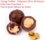Orange Truffles - 500 grams