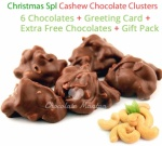 Amazing Cashewnut Clusters - Christmas Special
