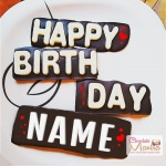 Happy Birthday Name - Signature Chocolate