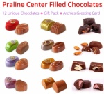 Praline Chocolate Collection - Christmas Spl with Greeting Card & Gift Pack