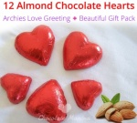 Chocolate Hearts - Valentines Special with Love Card