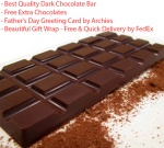 Dark Chocolate Bar - Father's day Special