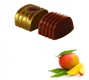 Mango with Dark Chocolates