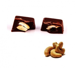 Cashew Nut Praline Dark Chocolate