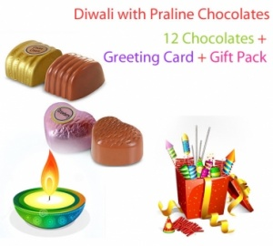 Diwali with Praline Chocolates