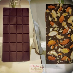 Sugar Free Almond Dark Chocolate Bar
