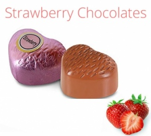 Strawberry Chocolates - 500 grams
