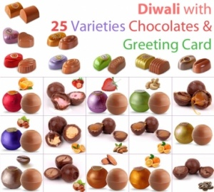 Diwali with 25 varieties of chocolates