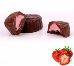 Strawberry Praline - Delicious Chocolate