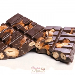 Sugar Free Cashew Nut Dark Chocolate Bar