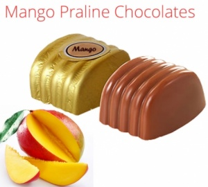 Mango Praline Chocolates