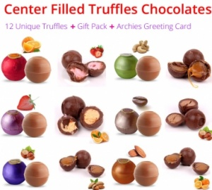 Truffle Collection - New Year Spl with Greeting Card & Gift Pack