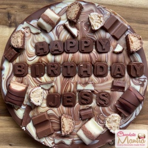 Fusion Mix Rich Chocolate Pizza - Birthday Special