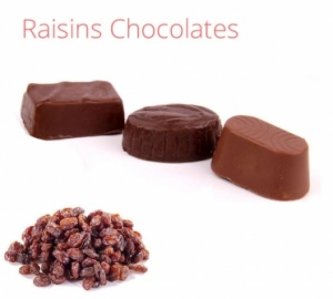 Raisins Chocolates - 500 grams
