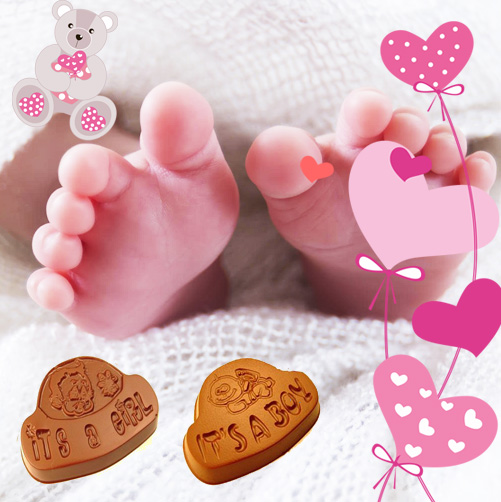 Newborn chocolate gifts online in India